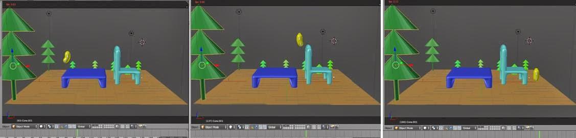 Cara Membuat Animasi Larva Melompati Meja Dan Kursi Menggunakan